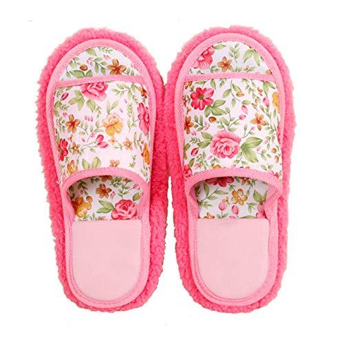 Zapatillas para Mujer 3 pares de zapatillas de limpieza de deslizamiento zapatillas lavabos de la casa desmontable cubierta de zapato de polvo limpiador de piso para baño Herramientas de Limpieza