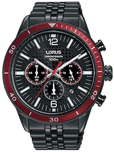 LORUS Reloj para Hombre Analógico Cuarzo con Correa de Acero Inoxidable RT331JX9