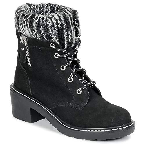 Shellys London COLAO Stiefelletten/Boots Damen Schwarz - 40 - Low Boots