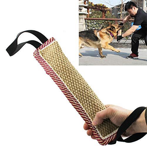Egurs Dog Bite Tug Toy mit 2 Griffen/Interaktives Zugspielzeug/Dog Trainging Toy für mittelgroße Hunde 1#