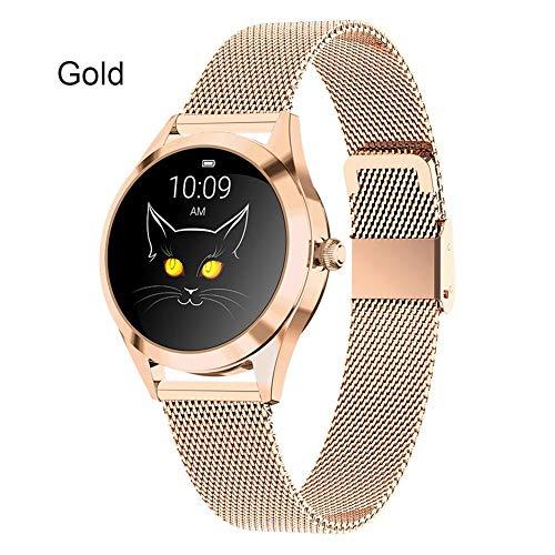 Bracelet KW10 Smart, Ceinture en Acier, Montre Intelligente pour Femme avec Affichage de l'heure, Mode Multisports,informations de Push Bluetooth