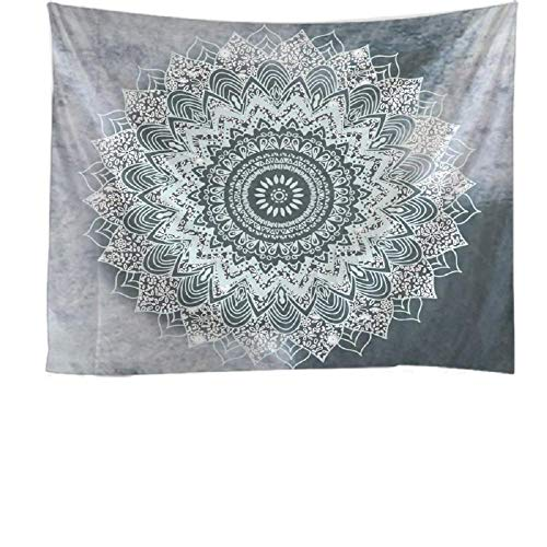 Mandala flores de bohemia tapiz colgante de pared dormitorio decoración sala de estar dormitorio pared fondo tela 150x200cm