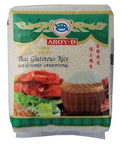 [ 4,5kg ] AROY-D Klebreis / Thai Glutinous Rice / Extra Super Quality