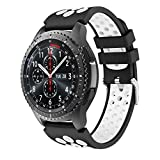 Yayuu Samsung Galaxy Watch 46mm/Gear S3 Bracelets de Montre, Bande de Remplacement en...