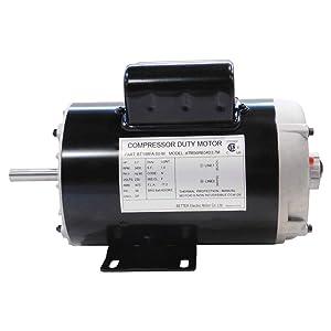 New 198FA 3.7HP,17.2A/230V Air Compressor Electric Motors, 56 Frame, 3450 RPM, 5/8