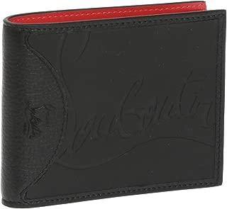[クリスチャンルブタン] 2つ折り財布 メンズ CHRISTIAN LOUBOUTIN M COOLCARD SNEAKERS 3195052 CM53 ブラック [並行輸入品]