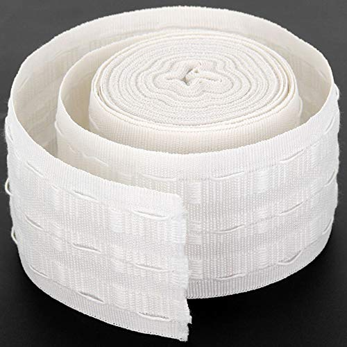 Curtain Accessory 20Meters Curtain Pinch Tape Pull Pleat Tape Cloth Belt Pencil Pleated Drapery Tape