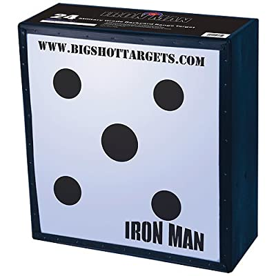 "BIGshot Iron Man 24"" Speed Bow Field Point Archery Target"