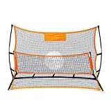 Fuxwlgs But de Football Football Rebounder Net Volley Formation Portable Football-Ball Cible Rebond Pied Aide-Outil Cible de Football (Color : 2.1m)
