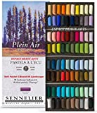 Sennelier 80 Pasteles Medio Pastel,80 Media Pasteles AL ÓLEO – Cajas DE CARTÓN - Paisaje Selection ,OPENLUCHT ,Sennelier France,ESPACEBEAUXARTS