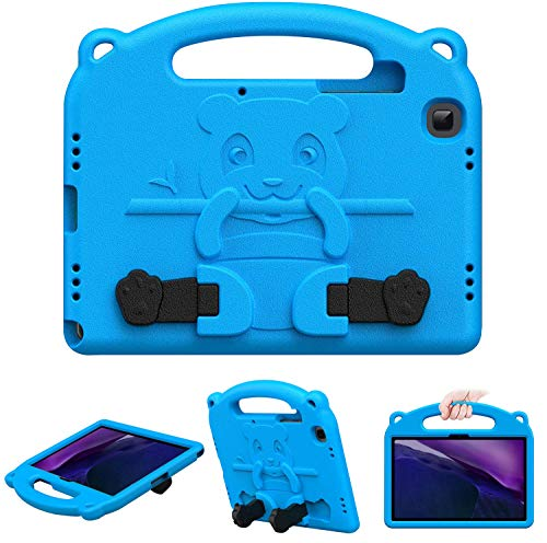 GREENURE Funda infantil para Samsung Galaxy Tab A7 10.4' 2020 SM-T500/T505/T507, a prueba de golpes con agarre de mano y soporte para Samsung Galaxy Tab A7 10.4' 2020 (azul)