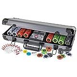 The Ultimate Poker Set 400 Poker Chips Ultra-Heavy 13.6g