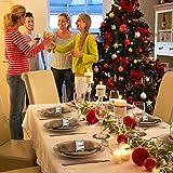 Runde Serviette Ringe für Hochzeit Bankett Dinner Party Hotel Serviette Ringe 6 Stück - 5