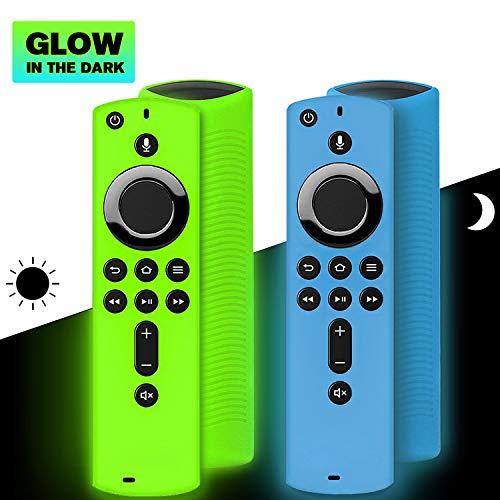 Best Deals! 2 Pack Remote Cover for Fire TV Stick 4K / Fire TV Cube/Fire TV (3rd Gen), Shockproof An...