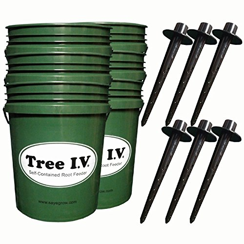 Tree I.V. Original Root Seeker Watering System for New Trees 6-pk