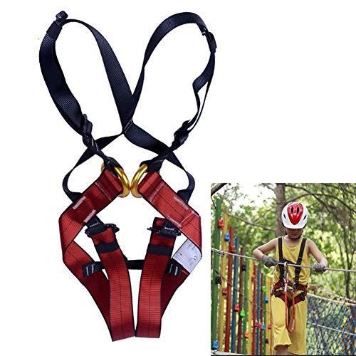 IGOSAIT Stark Kinder-Ganzkörper-Baum Klettern Trainingsgeschirre Abseilen Ausrüstung Auffanggurt Sicherheitsgurt Dauerhaft (Color : for 3 10 Years Old)
