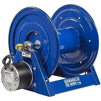 Coxreels 1185-1524-A-BUXX Air 4VANE Motorized Hose Reel 1-1//2 x 75 3000 psi