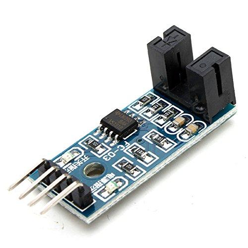 Ils - 10 stuks snelheidsmeter teller motor test Groove Coupler module voor Ardu