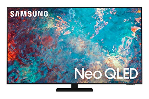 SAMSUNG 55-Inch Class Neo QLED QN85A Series - 4K UHD Quantum HDR 24x Smart TV with Alexa Built-in (QN55QN85AAFXZA, 2021 Model)