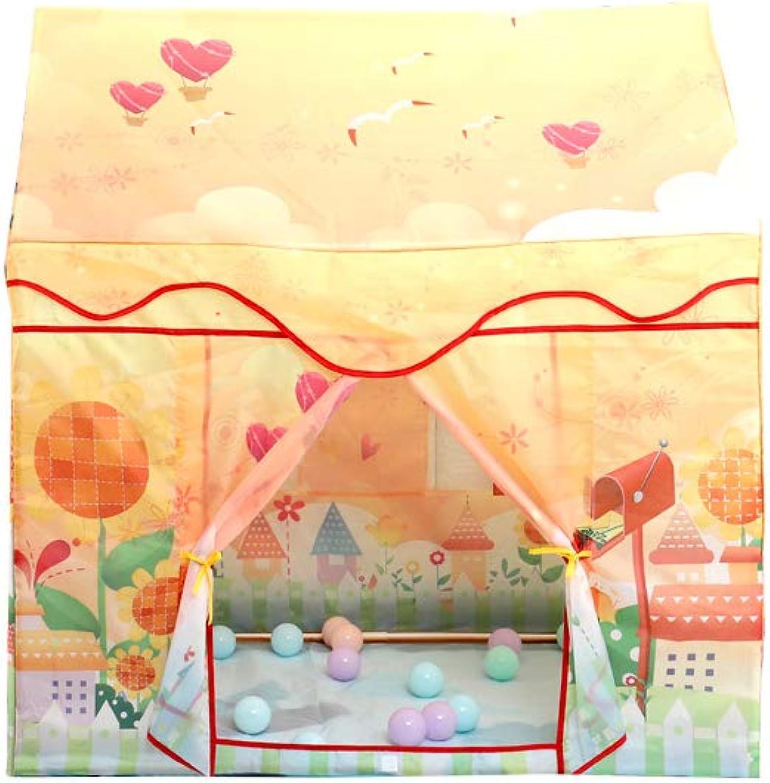 YMJJ Kinderspielzelt, MultiWare Deluxe Kinderprinzessin Castle Play House, Hausspielzeug für den Innenbereich