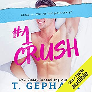 #1 Crush audiobook cover art