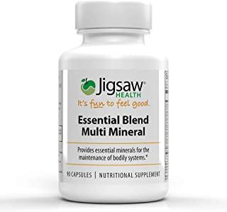 Jigsaw Health - Essential Blend Multi-Mineral - Replenish Vital Minerals. Contains chelated Forms of zinc, ...