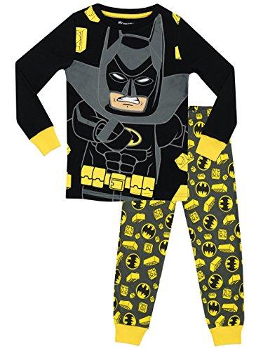 Lego Batman - Pijama para Niños - Lego Batman - Ajuste Ceñido - 4 - 5 Años
