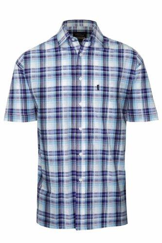 Socks Uwear Herren Socken ® Gowran Country Style Hemd, kariert, kurzärmlig, 100% Baumwolle Shirt 3042