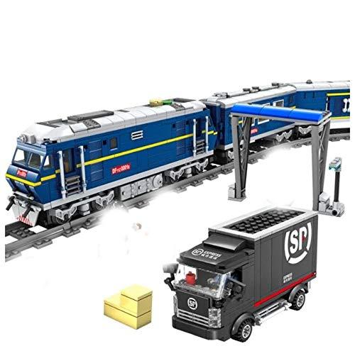 KAZI Elektrische Eisenbahn aus der Rail Train Serie, 1192 Teile, KY98220