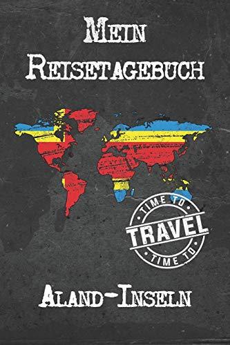 Mein Reisetagebuch Aland-Inseln: 6x9 Reise Journal I Notizbuch mit Checklisten zum Ausfüllen I Perfektes Geschenk für den Trip nach Aland-Inseln für jeden Reisenden