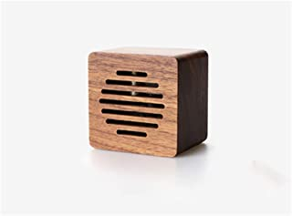 Fenghejp Speaker Clockwork Music Box Walnut Maple Creative Birthday Gift for Children and Girls Sky City Thousands and Thousands of Chinchilla Music Box (Color : Walnut, Style : Spirited Away)