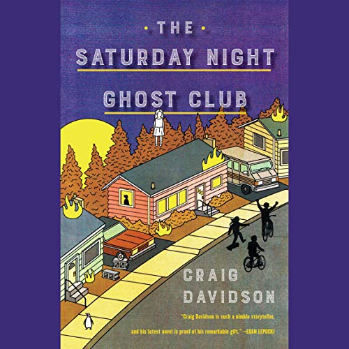 The Saturday Night Ghost Club audiobook cover art