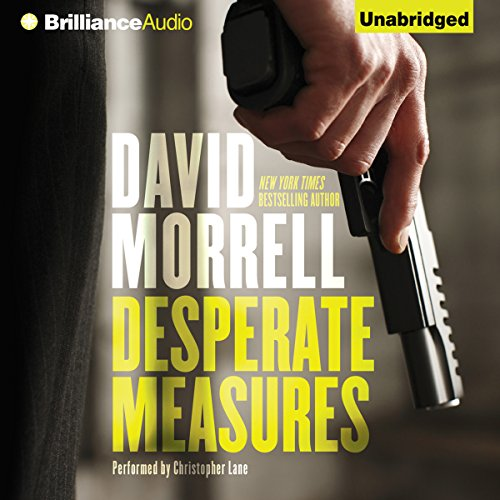 Desperate Measures audiobook cover art