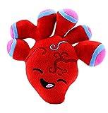"Attatoy Heart Plush, Stuffed Plush Heart Toy Body Organ, 10"" x 9' x 3'"