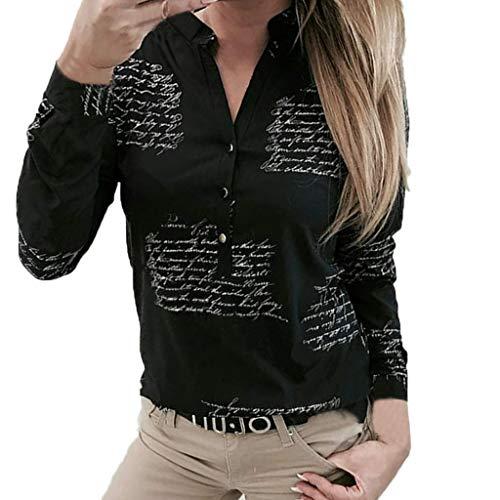 MORETIME MORETIME Damen Chiffon Blusen Elegante Reißverschluss Langarmshirts Bluse Tunika Oberteile T-Shirt V-Ausschnitt Tops?