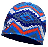 Buff SS 2017Coolmax Cappello Reversibile, Unisex, SS 2017 Coolmax Hat, Reversible Acoma Multi/Eclipse Blue, Adult One Size