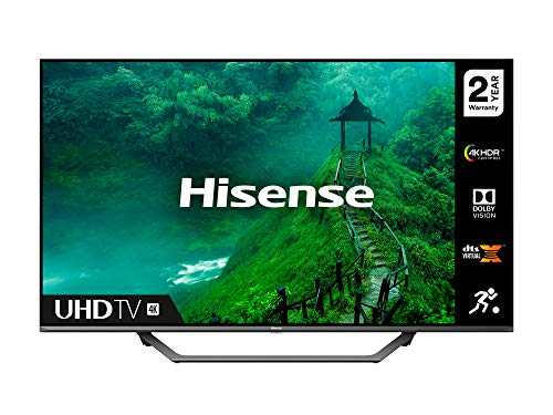 HISENSE 55AE7400FTUK Dolby Vision 55-inch 4K UHD HDR Smart TV with Freeview play, and Alexa Built-in (2020 series)