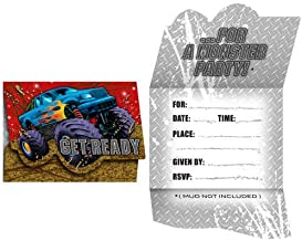 8-Count Party Invitations, Mudslinger Birthday