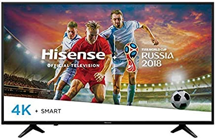 Hisense Televisor LED 65in Smart TV Ultra HD 4K 65H6E (Renewed/Reacondicionado)