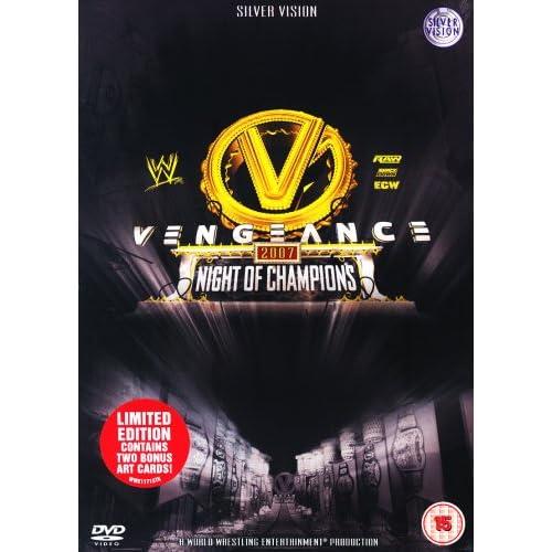 WWE - VENGEANCE 2007 [Edizione: Regno Unito]