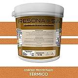 RESONA CORCHO PROYECTADO NATURAL TÉRMICO 12KG Teja (035)