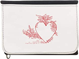 romantic Printed Case Wallet,  jeans