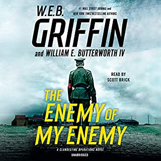 The Enemy of My Enemy audiobook cover art