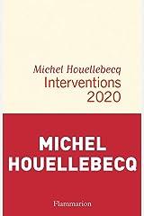 Interventions 2020 (Littérature française) Format Kindle
