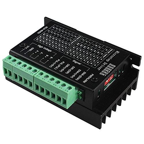 TopDirect Verbessert TB6600 Stepper Driver 4A 9-42V Schrittmotor Treiber Controller 2/4 Phasen Hybrid Schrittmotor Treiber Fahrer für 3D Printer Drucker / CNC