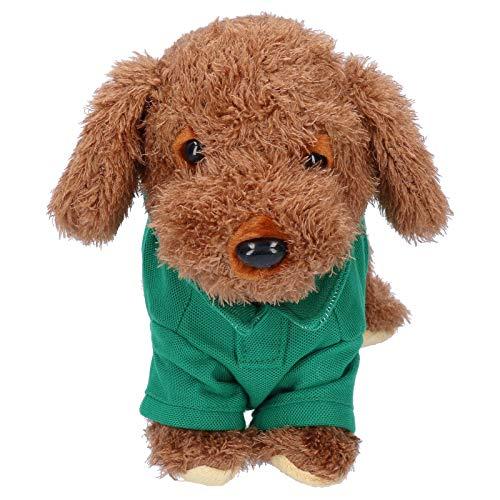 bizofft Perro Mascota electrónico, Juguete para Perro Mascota, Personalidad no tóxica para el Pago de Regalos en casa para bebés(Teddy)