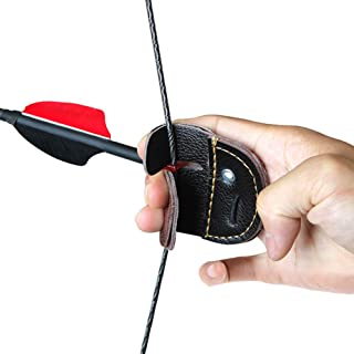 Bogenschießen Silikon Fingerschutz Kein Handschuh Recurve Bogenschießen JagCCXCZ