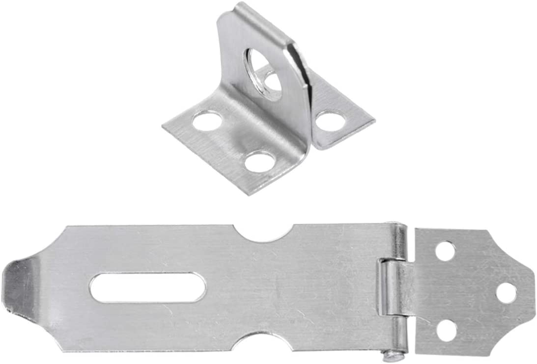 Scicalife Door Locks Hasp Latch Safety Max 80% OFF C Steel Cash special price Padlock Stainless