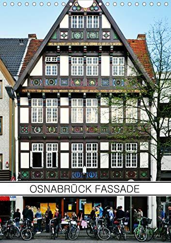 Osnabrück Fassade (Wandkalender 2021 DIN A4 hoch)