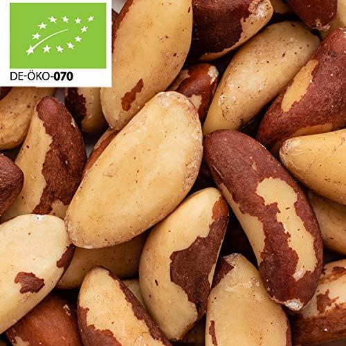 37,99€ (19,00€ pro 1kg) 2000g Bio Paranüsse ganz | Paranusskerne | 2 kg | ✔ aus Bolivien ✔ plastikfrei verpackt ✔ 100% Naturprodukt ✔ wiederverschließbar ✔ Rohkost | 100% Bio | STAYUNG - DE-ÖKO-070